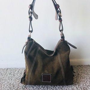 Dooney & Bourke Brown Shoulder Bag